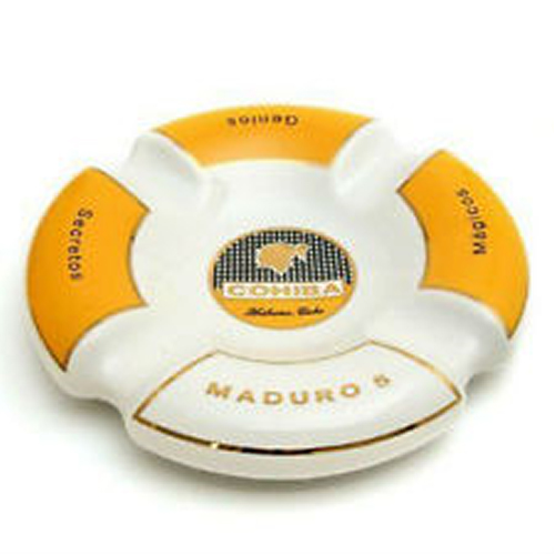 Cuban Extravaganza Collection - Cohiba White Maduro Ashtray - 9
