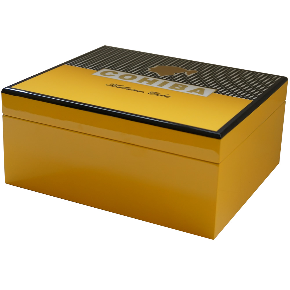 Cohiba Humidor - 50 Cigars - With Cohiba Logo on top